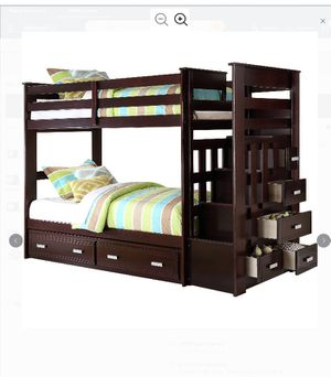 Bunk bed with stairs for Sale in Winter Haven, FL