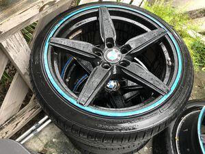 BMW rims with new tires have 2 set for Sale in Lake Wales, FL
