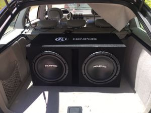 "SEND OFFERS dual Memphis 12"" subs best offer takes them for Sale in Wells, ME"