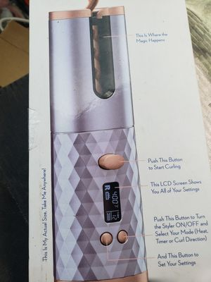 Unbound Beauty in Motion Cordless Auto Curler from Conair CR510 - BRAND NEW for Sale in Brockton, MA