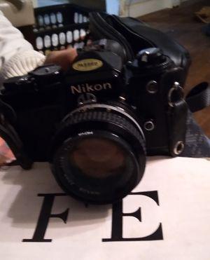 Nikon fe camera for Sale in Dallas, TX