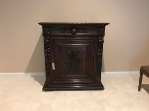 Antique European Cabinet with historical key for Sale in Alexandria, VA