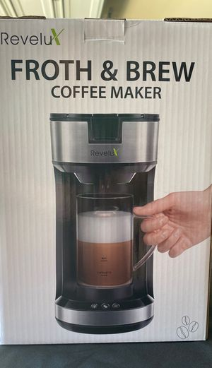 Coffee Maker, Froth & Brew Coffee Maker for Sale in Pflugerville, TX