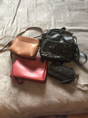 Various cross body and backpack purse for Sale in Pittsburgh, PA