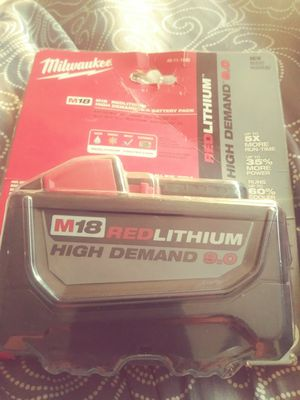 Milwaukee battery for Sale in San Angelo, TX