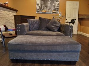 Fancy Sofa, Loveseat & Ottoman from Art Van for Sale in Canton, MI