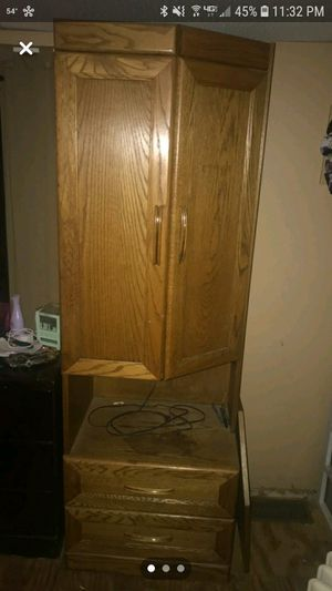Wood Cabinet for Sale in Williamstown, NJ