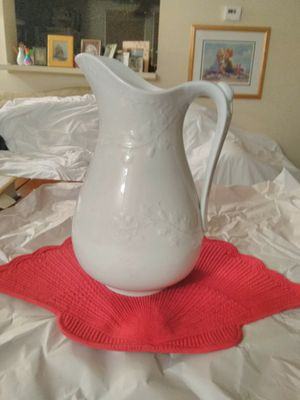 """Ironside China"" Antique Pitcher by Meakin & Co. for Sale in Springfield, VA"