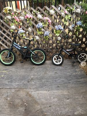 2 kids bikes. 1 $10. Small one $5 for Sale in Vallejo, CA