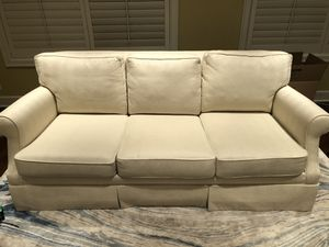 Ethan Allen White upholstered sofa for Sale in Rivergrove, OR