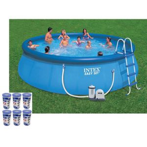Intex 18 x 48 Above Ground Swimming Pool Set w/ Filter for Sale in Torrance, CA