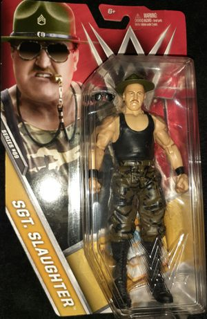 WWE Sgt Slaughter for Sale in Montclair, CA