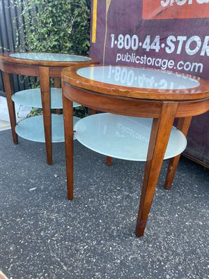 Side tables $40 for the set for Sale in Santa Ana, CA