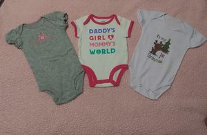 70 PIECES BABY GIRL CLOTHES SIZE 0-6M for Sale in Miami, FL