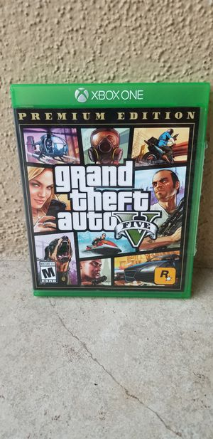 GTA V PREMIUM Ed - XBOX ONE, FIRM PRICE, GREAT CONDITION, TRADE FOR RD2 Only for Sale in Santa Ana, CA