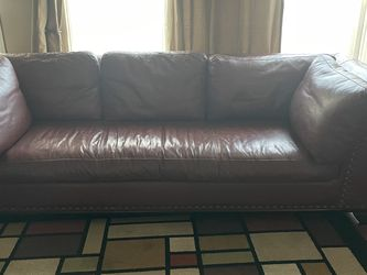 Leather Sofa for Sale in Corona,  CA