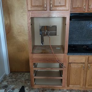 Cabinet stove and flat top with fan available all together for Sale in Bloomfield, CT