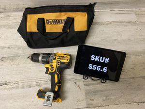Dewalt 20 Volt XR Brushless 1/2 in. Compact Hammer Drill Tool Bag included Tool Only for Sale in Mesa, AZ