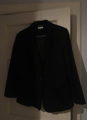 Women's sz 18W Calvin Klein Black Blazer for Sale in Concord, MA