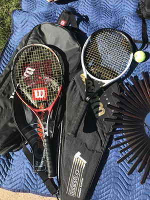 Tennis rackets and bags for Sale in Denver, CO