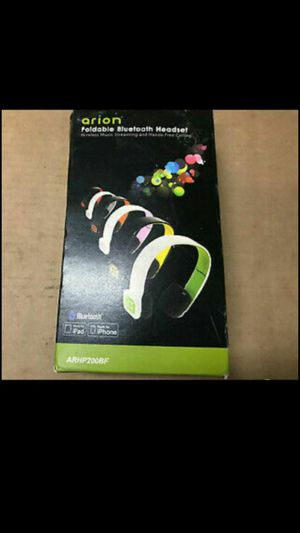 Arion Bluetooth headphones for Sale in Silver Spring, MD