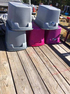 Storage containers Bundle! for Sale in Midlothian, VA