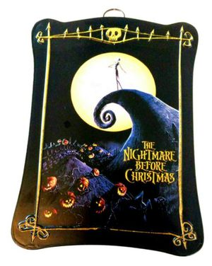 🆕 Nightmare before Christmas Tin Plaque for Sale in Lincoln Acres, CA