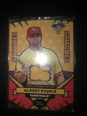 Albert Pujols 2006 All Star Game Jersey Baseball Card for Sale in Arnold, MO