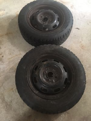 Ford escort snow tires for Sale in Wolcott, CT