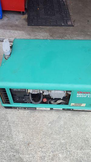 2007 propane RV mobile generator working for Sale in Lynnwood, WA