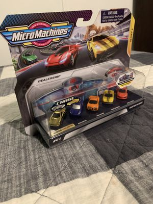 Micro machines gold chase for Sale in Burleson, TX