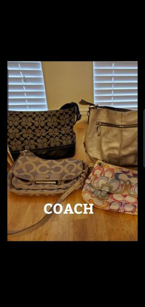 Lot of 4 coach bags for Sale in Austin, TX