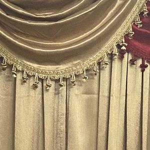 Red And Gold Curtains for Sale in Woodbridge, VA