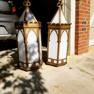 Antique six panel Church lights for Sale in Athens, GA