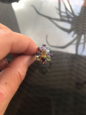 Multi color flower ring for Sale in York, PA