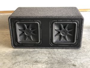 CAR AUDIO EQUIPMENT for Sale in Bethesda, MD
