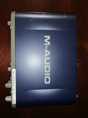 M-Audio Fast Track Pro for Sale in Pico Rivera, CA