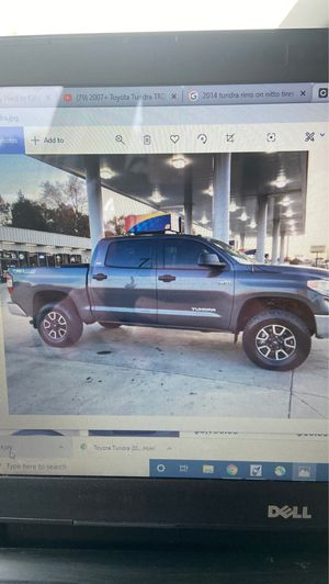 14 Tundra Limited factory rims and 275/70/18 Nitto Tires with spacers for Sale in Hebron, KY