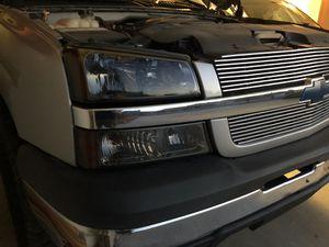 Silverado Smoked Headlights. for Sale in Payson, AZ