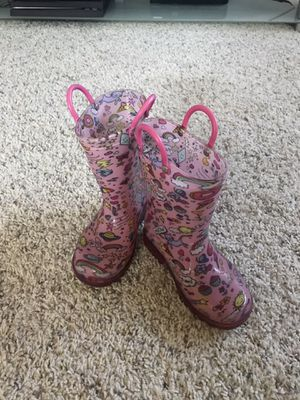 Toddler's Rainboots (Size 8) for Sale in San Miguel, CA