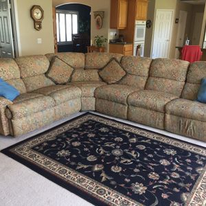 3pc Dual Recliner Flexsteel Sectional Sofa for Sale in Ramona, CA