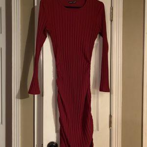 Red Color Velvet Dress for Sale in Alamo, TX