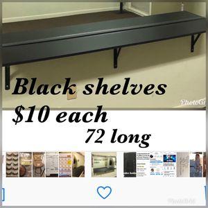 Shelves black for Sale in Montebello, CA