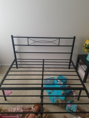 Metal bed frame for Sale in Chesterfield, VA