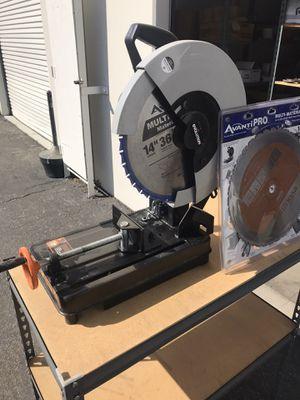"Chop Saw, Multi Purpose 14"" Evolution Rage 2 for Sale in Yorba Linda, CA"