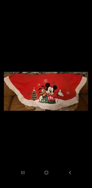 Original Disney Mickey and Pluto Christmas tree skirt for Sale in Chula Vista, CA