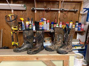 Waterproof boots size 14 for Sale in Burlington, WA