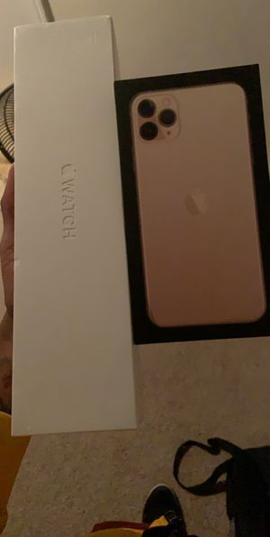 IPhone 11 Pro Max & Apple Watch Series 5 for Sale in Lee's Summit, MO