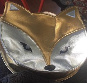 Unique Metallic Fox Petite Bag - heavy snap closure for Sale in Pittsburgh, PA