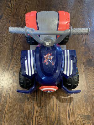Toddler Captain America ATV for Sale in Lebanon, TN